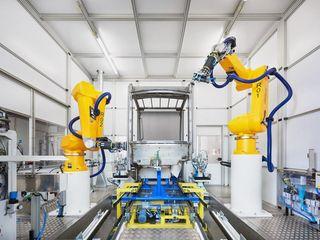 News Kabinenschleifen mit Robotern