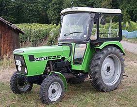 Traktorrestaurierung
